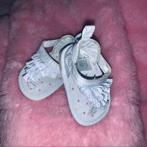 "Carters ""Just One You"" Newborn Wht/Pink Polka Dot"